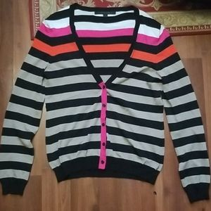 Katherine Barclay Striped Cardigan